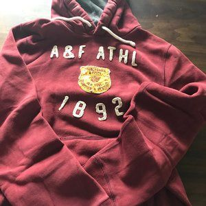 Men's heavy hoodie by Abercrombie & Fitch. Size XX